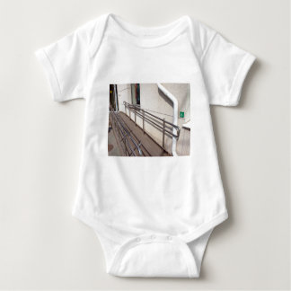 Ramp for physically challenged at the entrance baby bodysuit