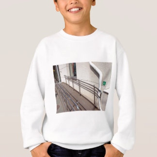 Ramp for physically challenged at the entrance sweatshirt
