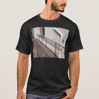 Ramp for physically challenged at the entrance T-Shirt