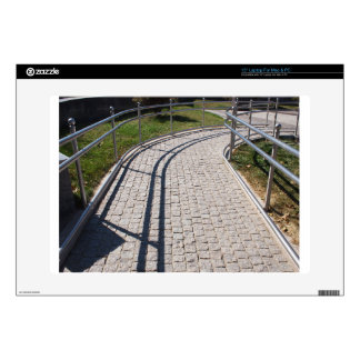 """Ramp for physically challenged from the granite pa 15"""" laptop skins"""