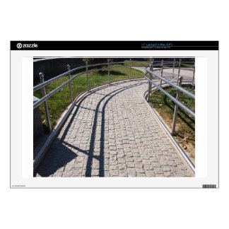 """Ramp for physically challenged from the granite pa 17"""" laptop skins"""