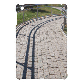 Ramp for physically challenged from the granite pa case for the iPad mini