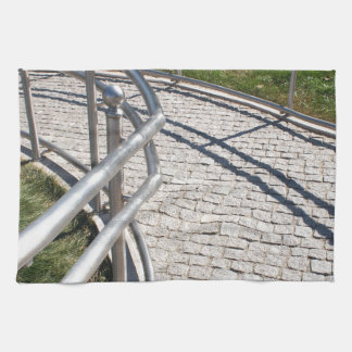 Ramp for physically challenged from the granite pa hand towel
