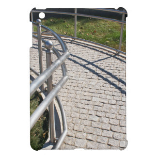 Ramp for physically challenged from the granite pa iPad mini cover