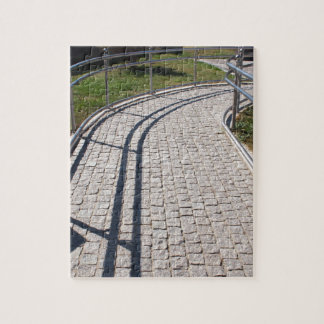 Ramp for physically challenged from the granite pa jigsaw puzzle