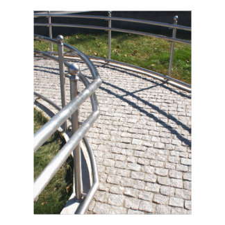 Ramp for physically challenged from the granite pa letterhead