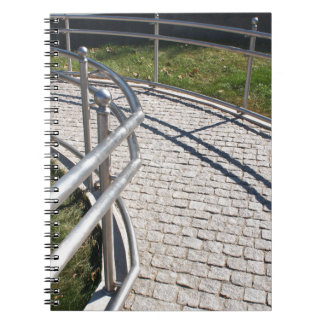 Ramp for physically challenged from the granite pa notebook