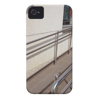 Ramp for physically challenged with metal railing Case-Mate iPhone 4 case
