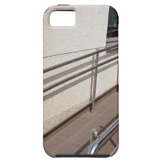 Ramp for physically challenged with metal railing iPhone SE/5/5s case