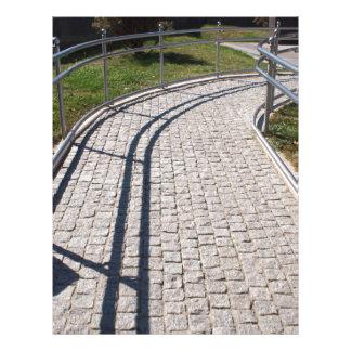 Ramp para desafiado físicamente del PA del granito Plantilla De Membrete