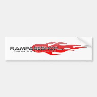 RampageShop.com Bumper Sticker