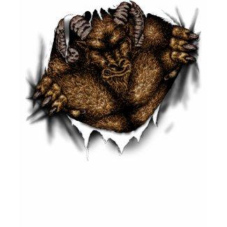 Rampaging Beast T-shirt shirt
