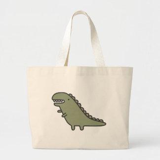 Rampaging Dinosaur! Tote Bag