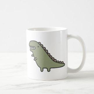 Rampaging Dinosaur! Coffee Mugs