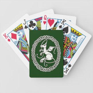 Rampant Dragon playing cards