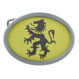 Rampant Lion Belt Buckle