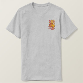Rampant Lion Embroidered T-Shirt