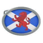 Rampant lion / Scotland's flag Belt Buckles