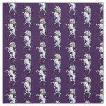 Rampant Unicorns Fabric