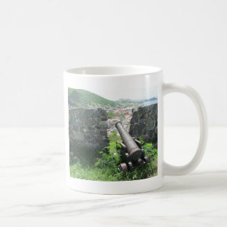 Rampart Cannon Fort Louis Coffee Mug
