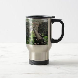 Rampart Cannon Fort Louis Coffee Mugs
