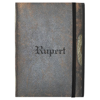 "Rampart Old Book Style V Pro Monogram iPad Pro 12.9"" Case"