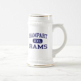 Rampart - Rams - High - Colorado Springs Colorado Mugs