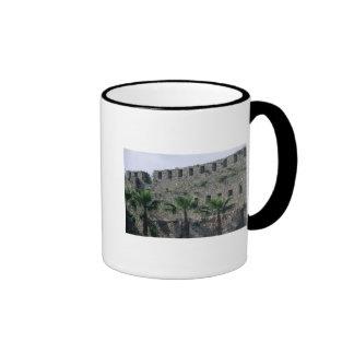 Ramparts from the citadel ringer mug