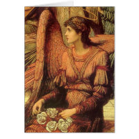 Ramparts of God's House, Strudwick Victorian Angel Cards