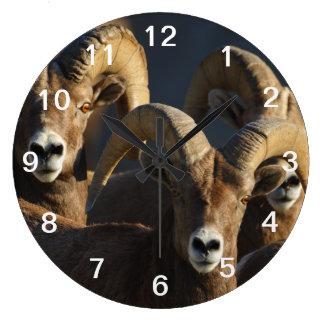 rams wall clocks