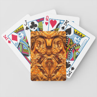 Rams head bicycle playing cards