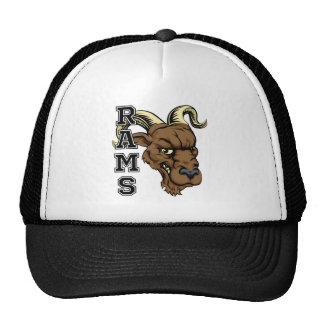 Rams Mascot Trucker Hat