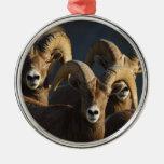 rams metal ornament