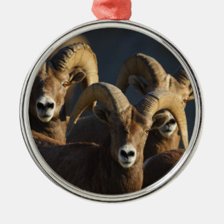 rams metal ornament