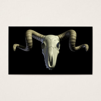 Rams Skull Business Card