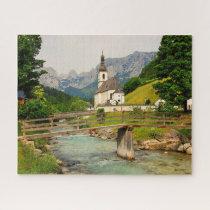 Ramsau Bavaria Germany. Jigsaw Puzzle