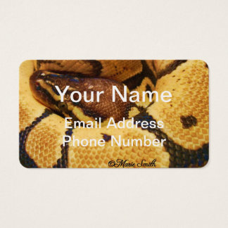Ramsay 4 Business Card