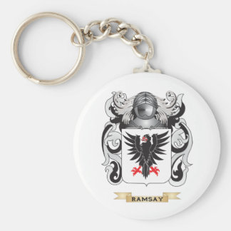 Ramsay Coat of Arms (Family Crest) Keychain