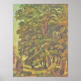 Ramsay_Richard_Reinagle_-_A_Wooded_Landscape_(Modi Poster