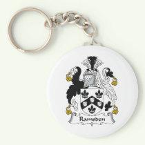 Ramsden Family Crest Keychain