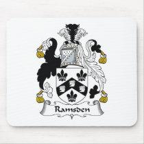 Ramsden Family Crest Mousepad