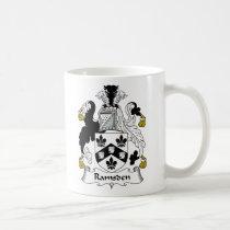 Ramsden Family Crest Mug