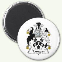 Ramsden Family Crest Magnet