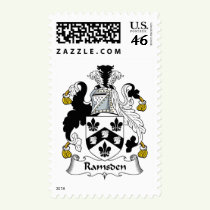 Ramsden Family Crest Stamps