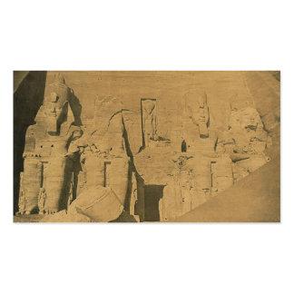 Ramses II. Egipto circa 1870 Tarjetas De Visita