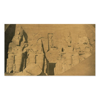 Ramses II. Egypt circa 1870 Double-Sided Standard Business Cards (Pack Of 100)