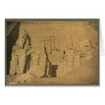 Ramses II. Egypt circa 1870 Greeting Cards