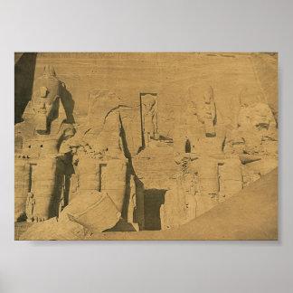 Ramses II. Egypt circa 1870 Poster