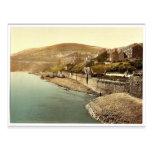 Ramsey, Ballower Mount, Isle of Man, England rare Post Card