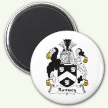 Ramsey Family Crest Magnet